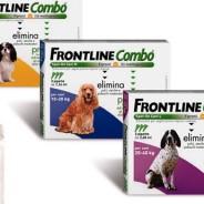 Frontline Combo proti bolham, klopom in ušem pri hišnih ljubljencih